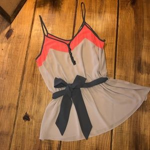 Dress Tank with Bow